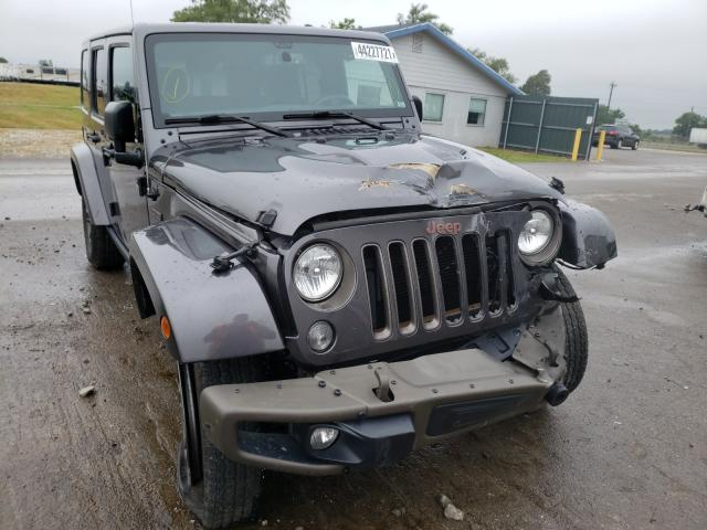 Salvage cars for sale from Copart Sikeston, MO: 2016 Jeep Wrangler U