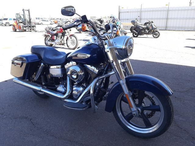 Salvage motorcycles for sale at Phoenix, AZ auction: 2013 Harley-Davidson FLD Switch