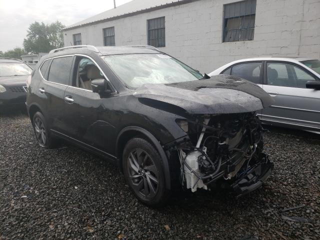 Salvage cars for sale from Copart Hillsborough, NJ: 2016 Nissan Rogue S