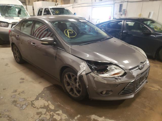 Salvage cars for sale from Copart Casper, WY: 2013 Ford Focus SE