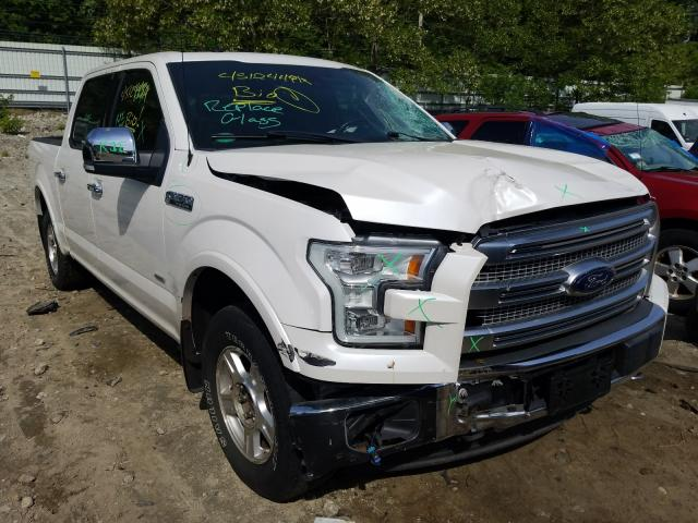 Salvage cars for sale from Copart Mendon, MA: 2017 Ford F150 Super