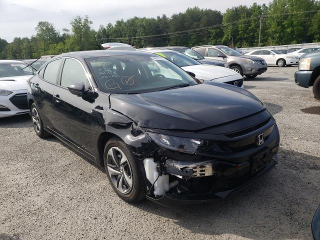 Salvage cars for sale from Copart Fredericksburg, VA: 2020 Honda Civic LX
