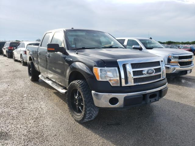 Salvage cars for sale from Copart San Antonio, TX: 2010 Ford F150 Super