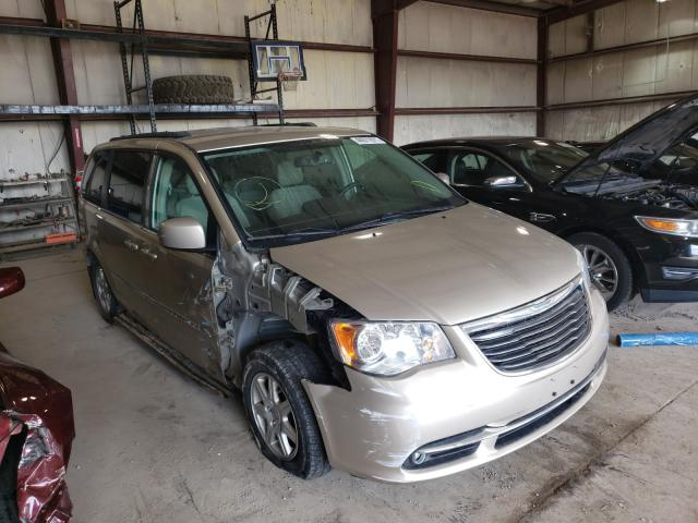 Salvage cars for sale from Copart Eldridge, IA: 2012 Chrysler Town & Country