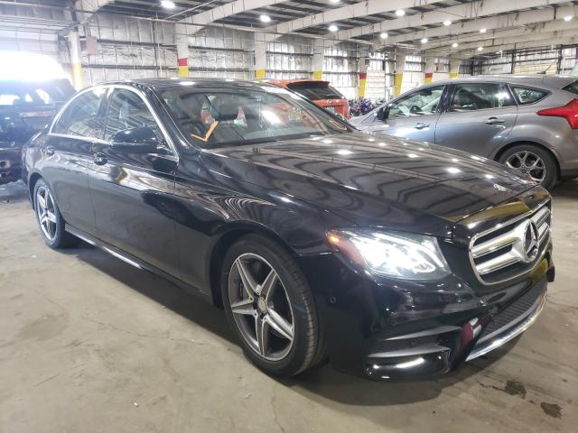 Salvage cars for sale from Copart Woodburn, OR: 2017 Mercedes-Benz E 300