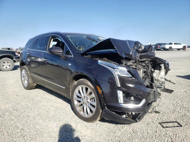 Salvage cars for sale from Copart Antelope, CA: 2017 Cadillac XT5 Premium