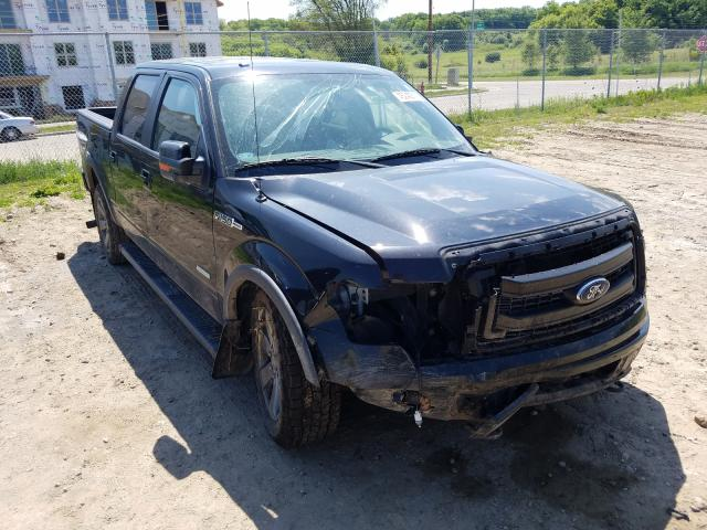 Salvage cars for sale from Copart Madison, WI: 2014 Ford F150 Super