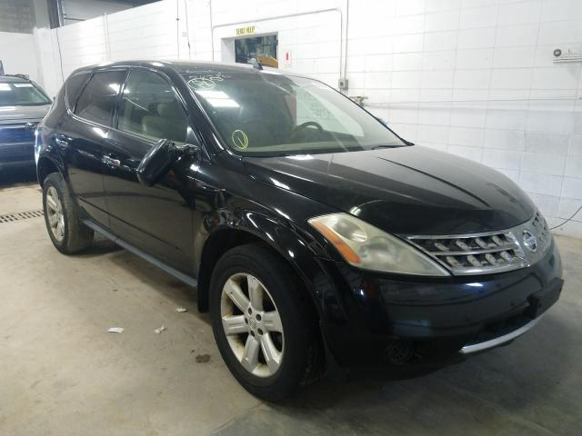Salvage cars for sale from Copart Blaine, MN: 2006 Nissan Murano SL