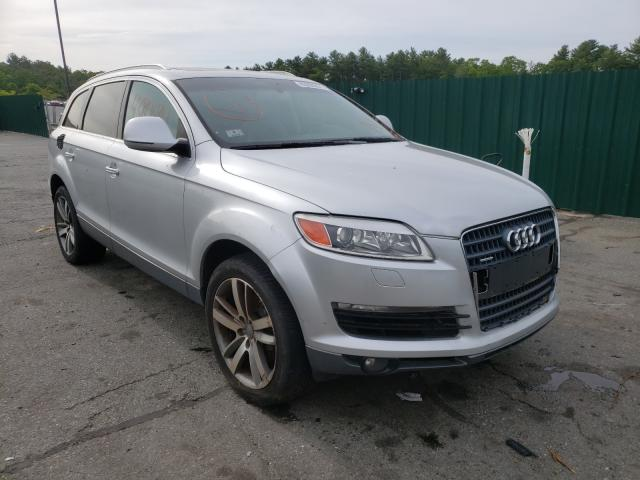 Salvage cars for sale from Copart Exeter, RI: 2007 Audi Q7 3.6 Quattro