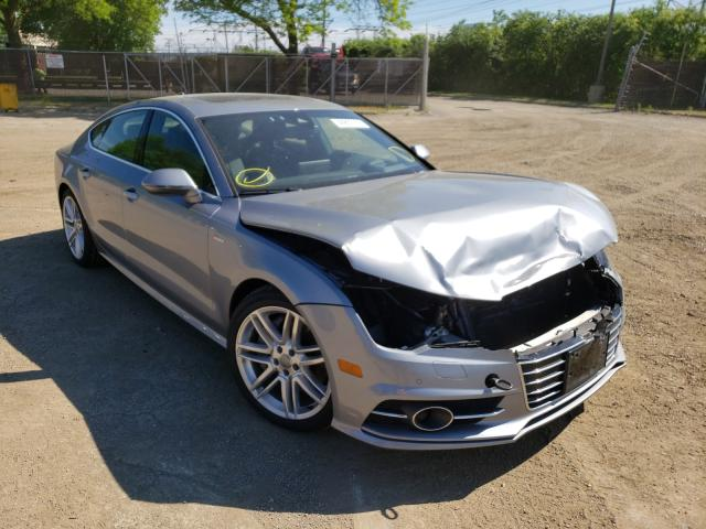 Salvage cars for sale from Copart Wheeling, IL: 2017 Audi A7 Prestige