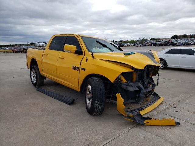 Vehiculos salvage en venta de Copart Grand Prairie, TX: 2016 Dodge RAM 1500 Sport