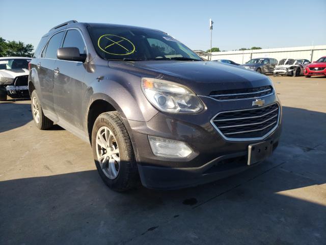 Vehiculos salvage en venta de Copart Wilmer, TX: 2016 Chevrolet Equinox LT