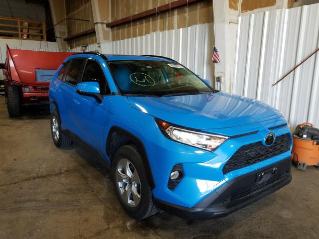 Salvage cars for sale from Copart Anchorage, AK: 2019 Toyota Rav4 XLE