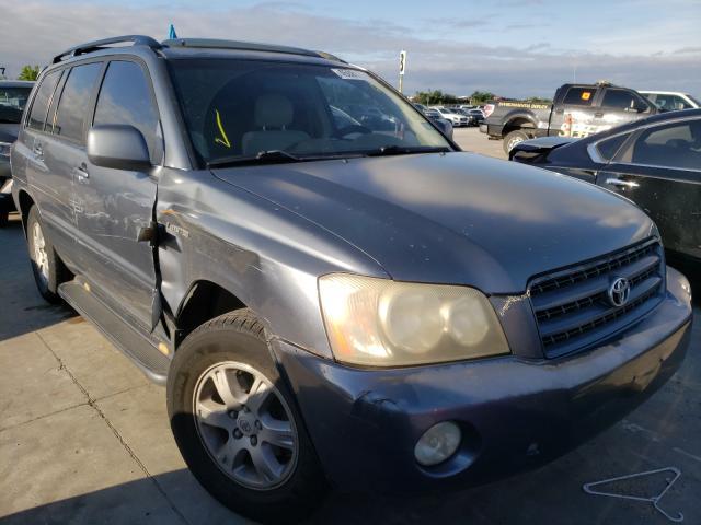 2002 Toyota Highlander for sale in Grand Prairie, TX