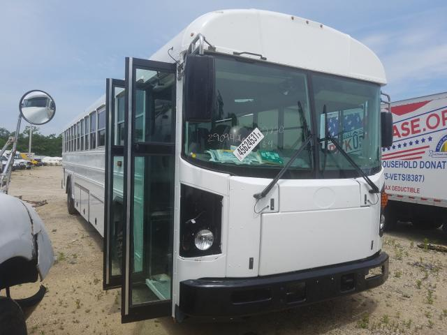 Salvage cars for sale from Copart Glassboro, NJ: 2022 Blue Bird School Bus