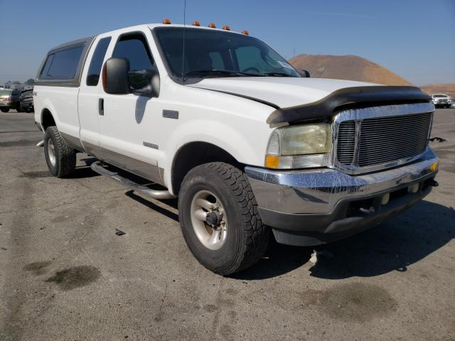 Salvage cars for sale from Copart Colton, CA: 2003 Ford F350 SRW S