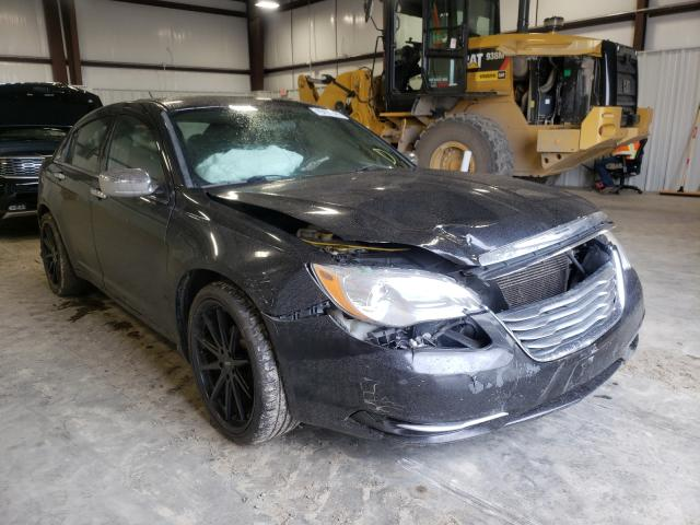 Salvage cars for sale from Copart Earlington, KY: 2012 Chrysler 200 LX