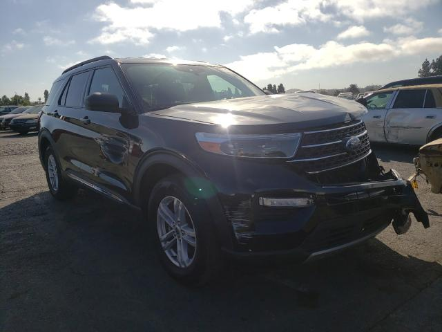 Salvage cars for sale from Copart Vallejo, CA: 2020 Ford Explorer X