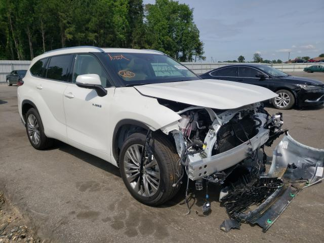 Salvage cars for sale from Copart Dunn, NC: 2021 Toyota Highlander