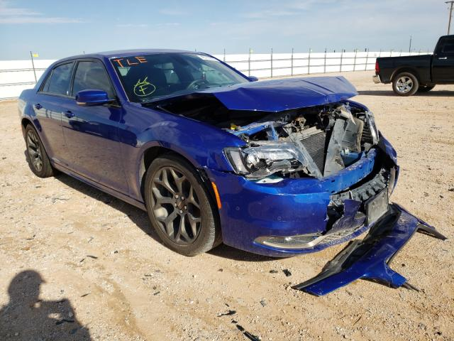 Salvage cars for sale from Copart Andrews, TX: 2018 Chrysler 300 S
