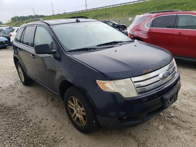 Salvage cars for sale from Copart Northfield, OH: 2008 Ford Edge SEL