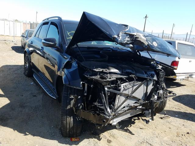 Salvage cars for sale from Copart San Martin, CA: 2021 Mercedes-Benz GLE 350 4M