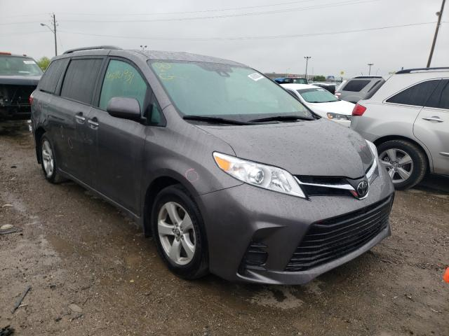 Salvage cars for sale from Copart Indianapolis, IN: 2020 Toyota Sienna LE