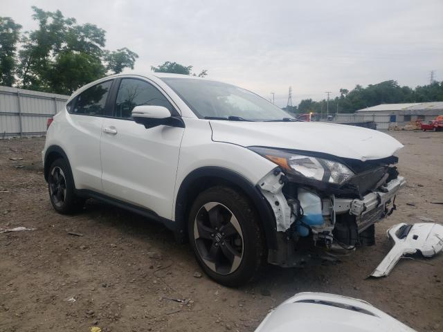 Salvage cars for sale from Copart West Mifflin, PA: 2018 Honda HR-V EX