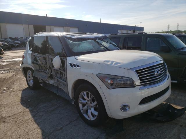 Infiniti Vehiculos salvage en venta: 2012 Infiniti QX56