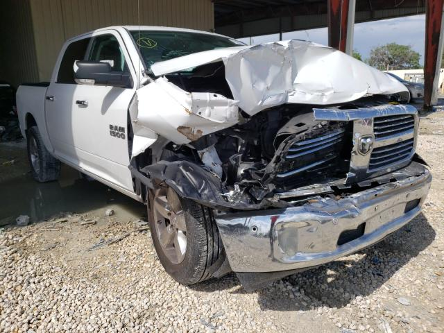 Salvage cars for sale from Copart Homestead, FL: 2017 Dodge RAM 1500 SLT