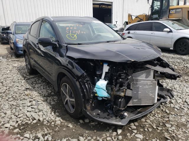 Honda Vehiculos salvage en venta: 2021 Honda HR-V EX