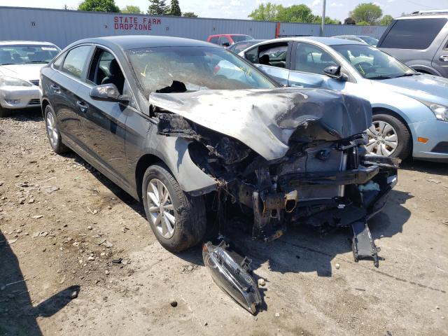 Salvage cars for sale from Copart Cudahy, WI: 2019 Hyundai Sonata SE