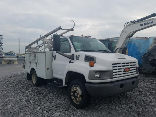 Salvage cars for sale from Copart New Orleans, LA: 2005 Chevrolet C4500 C4C0