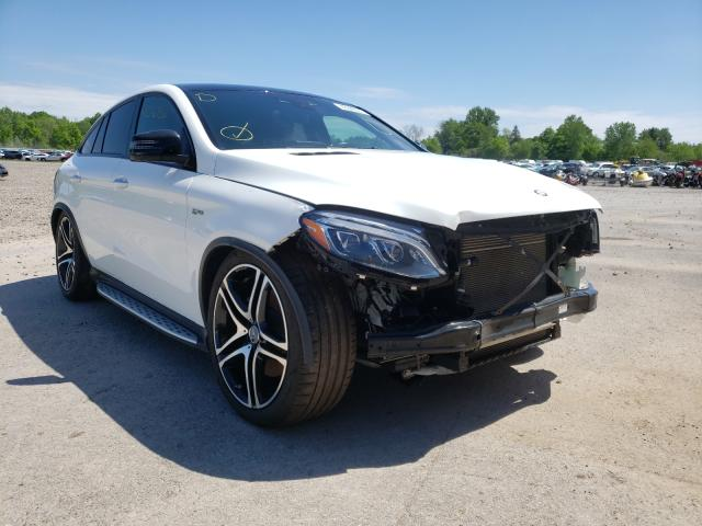 Salvage cars for sale from Copart Central Square, NY: 2017 Mercedes-Benz GLE Coupe