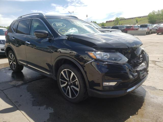 Salvage cars for sale from Copart Littleton, CO: 2020 Nissan Rogue S