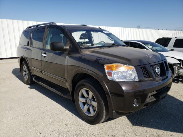 Salvage cars for sale from Copart Adelanto, CA: 2015 Nissan Armada SV
