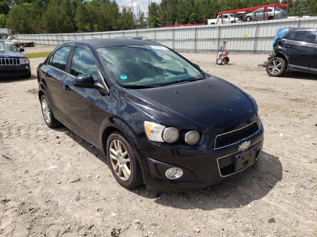 Salvage cars for sale from Copart Charles City, VA: 2012 Chevrolet Sonic LT
