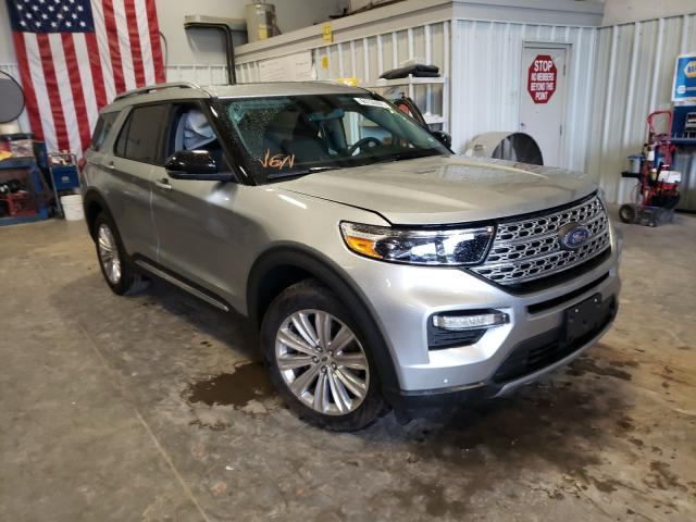 Salvage cars for sale from Copart Rogersville, MO: 2020 Ford Explorer L