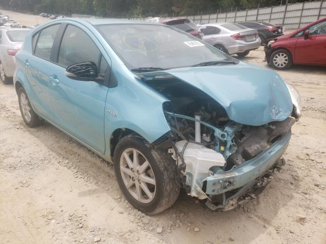 Salvage cars for sale from Copart Gainesville, GA: 2014 Toyota Prius C
