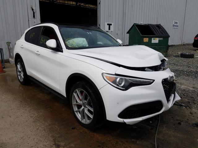 Vehiculos salvage en venta de Copart Windsor, NJ: 2019 Alfa Romeo Stelvio TI