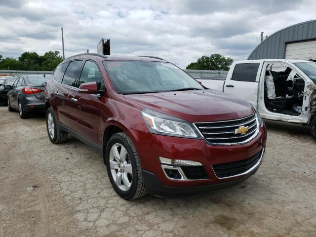 Salvage cars for sale from Copart Wichita, KS: 2017 Chevrolet Traverse L