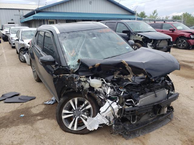 Salvage cars for sale from Copart Pekin, IL: 2020 Nissan Kicks SR
