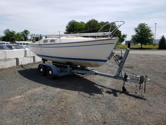 Salvage boats for sale at East Granby, CT auction: 1976 Chrysler Boat