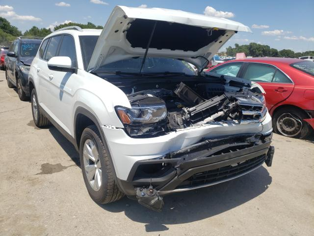 Salvage cars for sale from Copart Riverview, FL: 2019 Volkswagen Atlas SE
