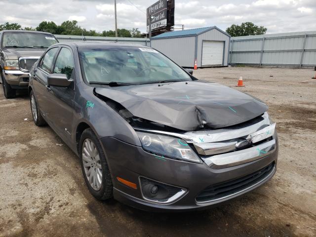 Vehiculos salvage en venta de Copart Wichita, KS: 2010 Ford Fusion Hybrid