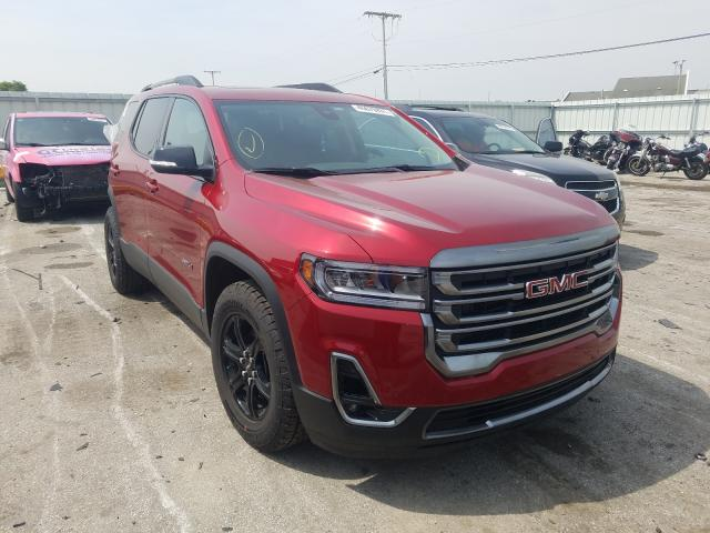 Salvage cars for sale from Copart Dyer, IN: 2021 GMC Acadia AT4