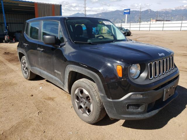 Hail Damaged Cars for sale at auction: 2015 Jeep Renegade S