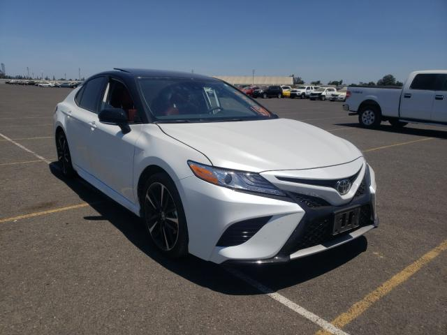 Salvage cars for sale from Copart Sacramento, CA: 2020 Toyota Camry XSE