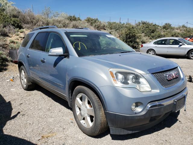 Salvage cars for sale from Copart Reno, NV: 2008 GMC Acadia SLT