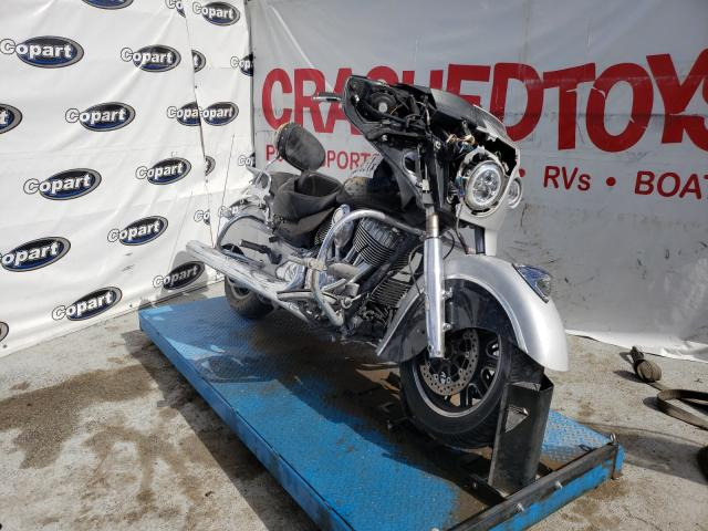 Salvage cars for sale from Copart Anthony, TX: 2016 Indian Motorcycle Co. Chieftain